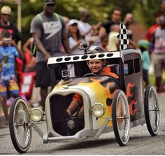Cool Dads Rock Derby 2015 soapbox car