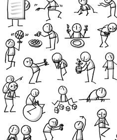 Frauen, die visualisieren: Eva-Lotta Lamm * Katharina Bluhm Women who visualize: Eva-Lotta Lamb * Katharina Bluhm Doodle Drawings, Cartoon Drawings, Doodle Art, Easy Drawings, Doodle Sketch, Drawing Tips, Drawing Sketches, Poster Drawing, Drawing Ideas