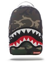 Backpacks like you've never seen before. Come explore the crazy world of SPRAYGROUND. Supreme Backpack, Bape Shark, Backpack Bags, Baby Items, Woodland, Camo, The North Face, Prada, Graffiti