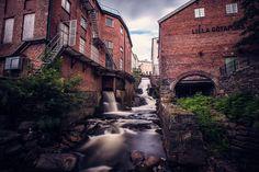 Forsar och gamla byggnader Mölndal - Rebecka S - Fotograf i Göteborg
