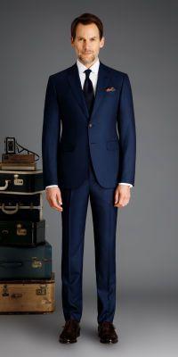 Rivington Dusk Blue Custom 3-Piece Suit | Men's suits