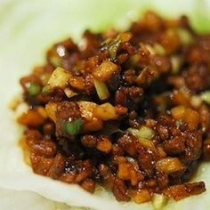 Wanna-Be PF Chang's Lettuce Wraps | foodraf...the sauce recipe sounds like a good one to try ~