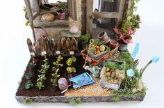 Cinderella Moments: Petite Maison de Jardin Custom Dollhouse