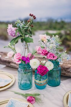 Boho Chic wedding decorations