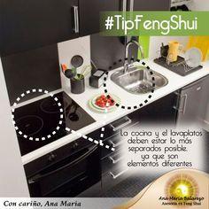 La cocina en el Feng Shui es sinónimo de Abundancia! Fíjate si los 5 elementos están para mejorar tu entorno. anamaria.fengshui@gmail.com Lima Perú