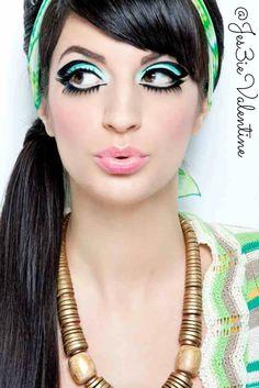 #makeup #60s #fashion