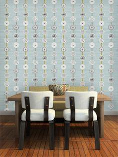 Atomic Wallpaper {kitchen}