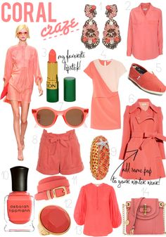 Hoping to find me some cute coral pieces for summer!