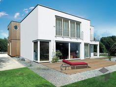 F 165.10 von Fingerhut Haus Wohnfläche gesamt181,63 m² Zimmeranzahl5  | Cubushaus| Flachdach Fertighaus.de