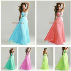 Online Shop Free Shipping 2014 Sexy Strapless Sleeveless Floor Length Lace Up Chiffon Formal Party Evening Dress Long Prom Dresses|Aliexpress Mobile