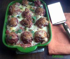 Eat & Live: Macarrones gratinados con albondigas