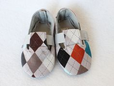 Sweet Baby Boy Shoes -Fawn Over Baby Alexander