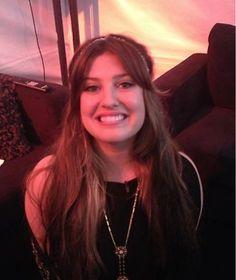 Sarah Simmons backstage