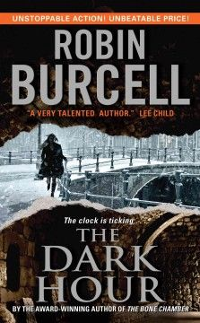 In The Dark Hour, Fitzpatrick is on the trail of a covert government agent's missing wife who is presumed dead—until evidence places her behind the enemy lines of lethal bioweapons organization.