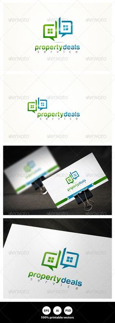 Property Deals by Nasirktk Features : Included File Formats EPS AiPSDColour Versions: CMYK RGB File color type:Normal ColorBlack Color 100 Print Ready Vecto