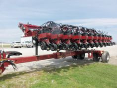 12 row CaseIH 1245 Early Riser corn planter