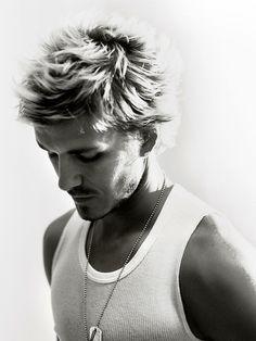 "Image credit: James Bareham    ""David Beckham, footballer & icon – Manchester, England"""