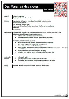 Jan Voss, fiche préparation, cp, ce1, cycle 3, arts visuels