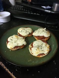 """If i ever opened a pizza place my gimmick would be pizzas on 16"""" english muffin halves. Id call it The Nook & Cranny. Have sort of an old world pub theme..."""
