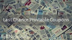 Last Chance Printable Coupons: Charmin, Hefty, General Mills, Tide & More - http://www.mybjswholesale.com/2016/05/last-chance-printable-coupons.html/