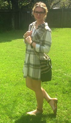 OOTD LOTD FALL FASHION OUTFIT IDEA PLAID SHIRT DRESS CUTE OUTFIT INSPIRATION WIW BLOG BLOGGER STYLE