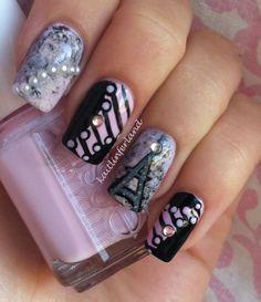 French Nails Fabulous Nails, Gorgeous Nails, Love Nails, Pretty Nails, Style Nails, Glam Nails, Diy Nails, Beauty Nails, Garra