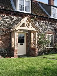 Image result for porch roofs uk Porch Roof Uk, Porch Roof Design, Shed, Outdoor Structures, Cabin, House Styles, Image, Home Decor, Lean To Shed