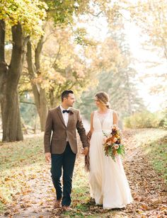Autumn Countryside Ontario Elopement: Meagan + Andrew   Green Wedding Shoes Wedding Blog   Wedding Trends for Stylish + Creative Brides