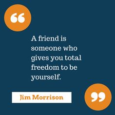 Keep your friends close!