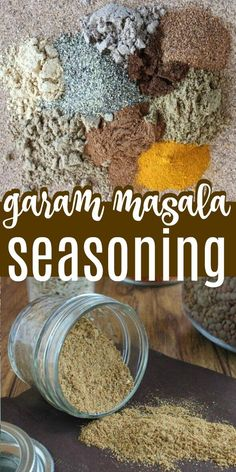 Homemade Garam Masala Seasoning is a spice mixture that will take you a long way in adding flavors to your dishes. A simple blend that you just mix and use whenever it calls. #seasonings #spices #garammasala #seasoningmix #garammasalarecipe Easy Clean Eating Recipes, Fast Dinner Recipes, Healthy Diet Recipes, Delicious Vegan Recipes, Whole Food Recipes, Freezer Recipes, Potluck Recipes, Vegan Foods, Amazing Recipes