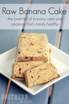 Raw Banana Cake #SouthernInLaw