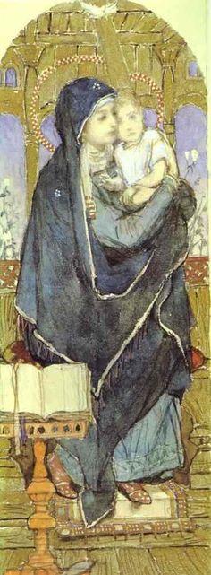 Mother Mary and Child Jesus -Victor Vasnetsov
