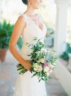 The prettiest spring bouquet:  http://www.stylemepretty.com/destination-weddings/spain-weddings/2016/05/05/beautiful-wedding-in-the-sunny-marbella/ | Photography: Joseba Sandoval - http://www.romanceweddings.co.uk/