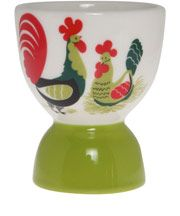 Rooster Ceramic Egg Cup