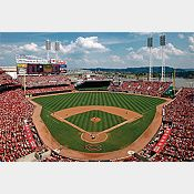 Inside Great American Ball Park Mural - Cincinnati Reds - MLB