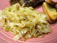 I grew up on smothered cabbage, but I think this one can beat them all...tender-crisp and fast.  See note for caraway.