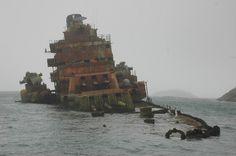 Sunken Battleship