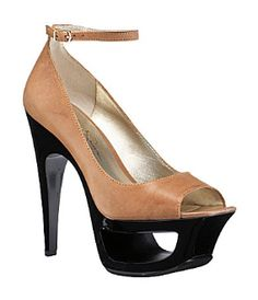 """Jessica Simpson - """"Beckery"""" Peep-Toe Platform Pump...Grandmaw don't keep up with Jessica...but Simply Fashion has this shoe too!"""