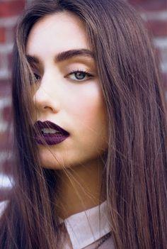 + Carolina Estilo +: Tendencias: Labios Oscuros
