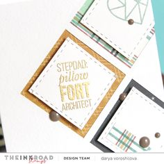 "Hello everyone, It's Darya here! Today I'm sharing with you a masculine card for stepdad, with ""Blended"" stamp set from InkRoad stamps. When it comes to all masculine projects it's… Masculine Cards, Hello Everyone, Things To Come, Stamp, Scrapbook, Ink, Simple, Projects, Blog"