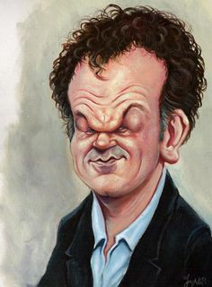 [ John C Reilly ] - artist: Niall O Loughlin - website: http://www.caricatures.ie/index.php