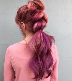 { Depth + Shadows } Multi-dimensional Purple Rose by @nealmhair using VIVIDS. #pravana #colorcollective #pravanavivids #theresonlyone #pravanafinland #hairbestiesfinland #finpaka #pakapro #hiusnörä #kampaamo #kampaaja #kampaajalla #igersfinland #finnishgirl #hiukset #hius #hairdresser #hair #hairbesties #hairinspo #hairgoals