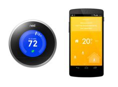 Nest (left) learns your habits and programs itself to turn the heat up or down according to your routine. $249. nest.com A glimpse into the future? The app-driven Tado (right) setup, currently available only in Europe, uses phones' geo-location capabilities to detect when a home's residents are near and get the house nice and toasty in advance. tado.com