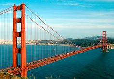 One of my dreams is going to San Fransisco and love the view of and from the bridge