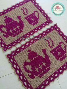 Filet Crochet, Doilies, Bohemian Rug, Coasters, Crochet Patterns, Crafty, Crochet Curtains, Crochet Rugs, Paper Crafts For Kids