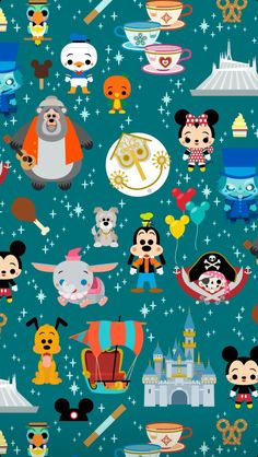Illustration for Georges children's magazine, in its issue dedicated to theater. Gif Disney, Disney Diy, Disney Love, Disney Phone Wallpaper, Wallpaper Iphone Cute, Of Wallpaper, Disney Posters, Disney Cartoons, Disney Background