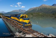 RailPictures.Net Foto: ARR 3015 Alaska Railroad EMD GP40-2 em Crown Point…