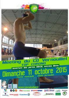 11/10/2015 meeting du CO #Vernouillet natation le Top Chrono