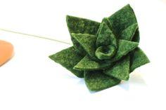 How to make a DIY felt succulent plant + Fiskars scissors giveaway - Dear Handmade Life