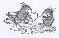"(^_^) House Mouse - nibbled chocolate heart. 5"" x 7.7""  7c27436da41e97b2810f2c5c1dceb528.jpg (736×479)"